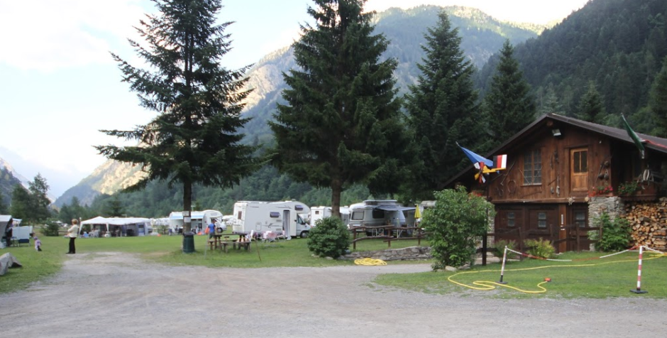 Campeggio Camping Rio Strepeis Genius Camping